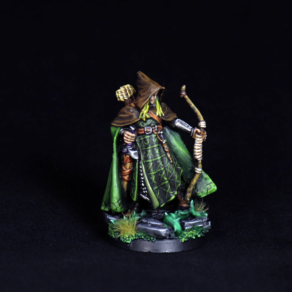 Arthrand-Nightblade-Elf-Ranger-Miniature-1