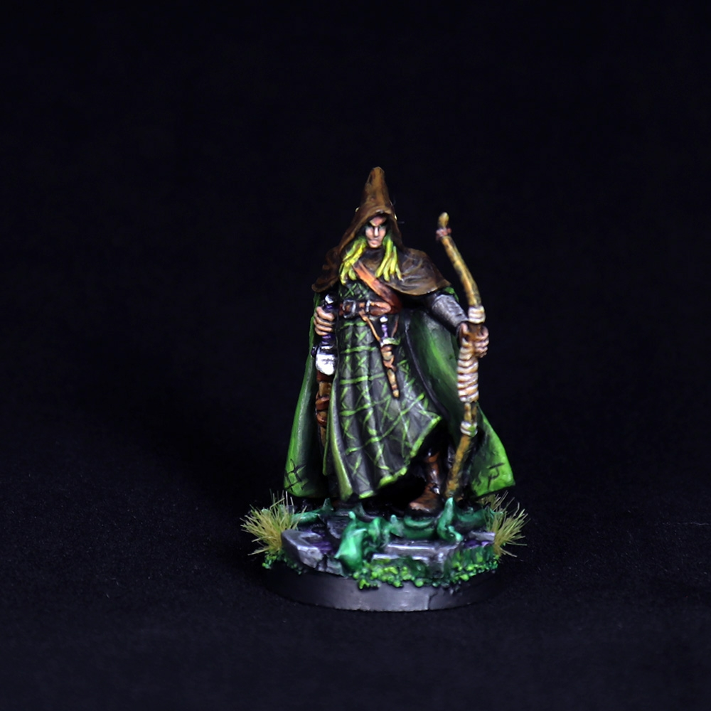 Arthrand-Nightblade-Elf-Ranger-Miniature-2