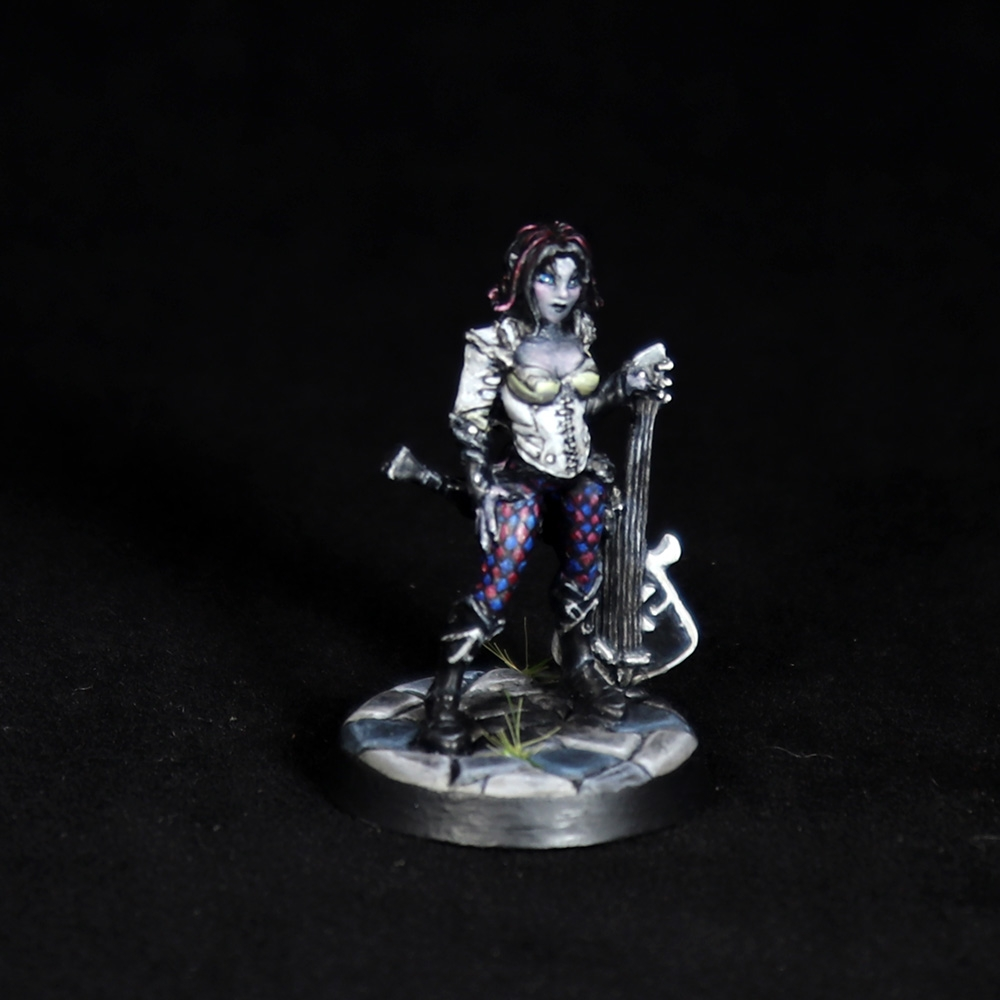 Astrid-Female-Bard-Miniature-2