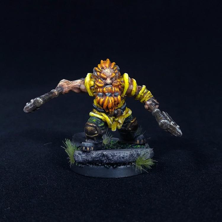 Krutzbeck Dwarf Ranger Berserker