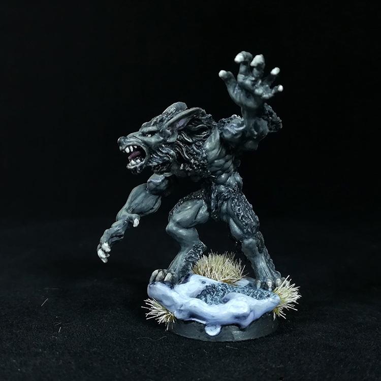 Reaper Werewolf Miniature