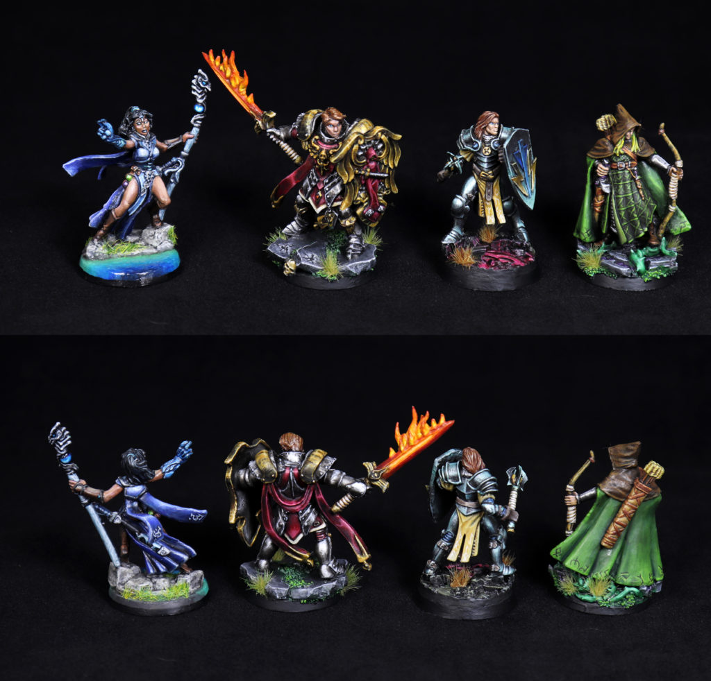 custom painted miniatures